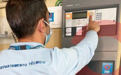 Sistema Automático de Deteção de Incêndio
