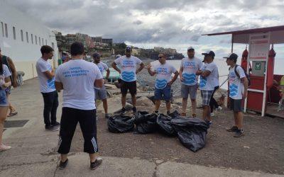 STRONG CHARON promove iniciativa de recolha de resíduos em praias